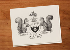 Believe in Yourself • Heraldic Greeting Card