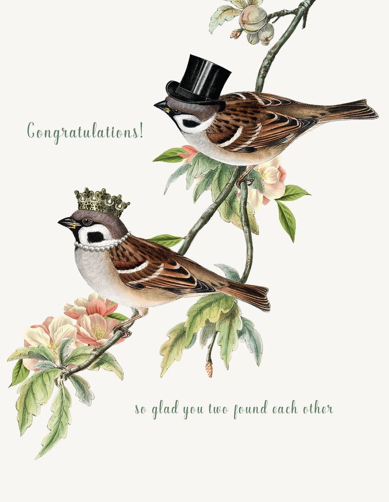 Congratulations, so glad  • A-2 Greeting Card