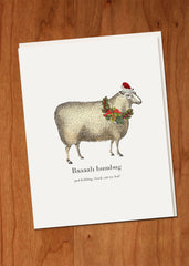 Baaaah Humbug • Holiday Boxed Greeting Cards
