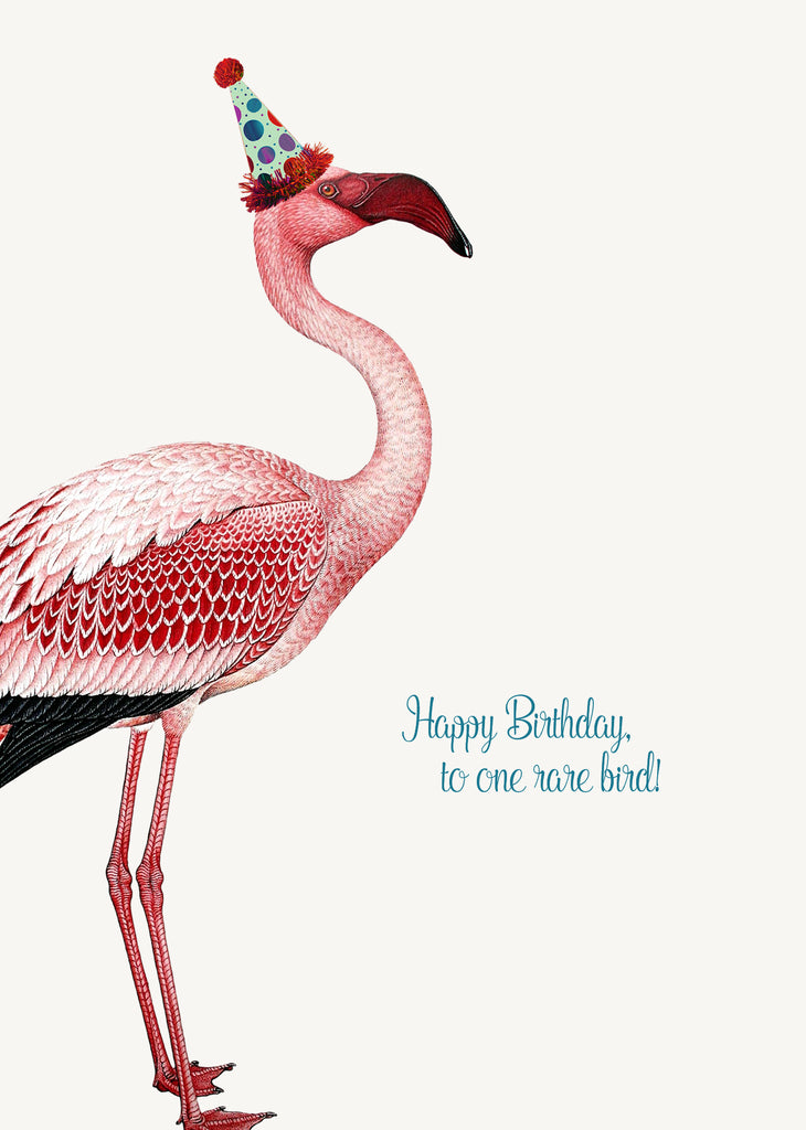 Happy Birthday To One Rare Bird • 5x7 Greeting Card