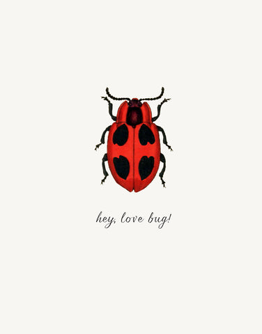 Hey Love Bug! • A-2 Greeting Card
