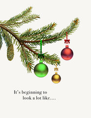 It's Beginning to look  • A-2 Holiday Greeting Card