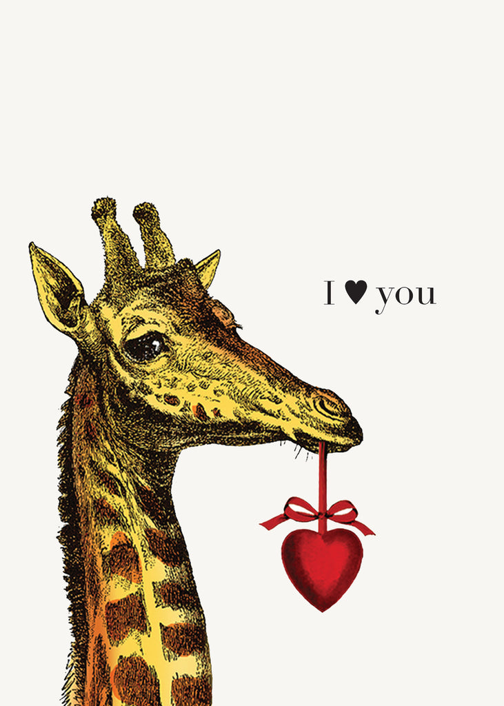 I Heart You • 5x7 Greeting Card