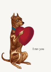 I Ruv You • 5x7 Greeting Card