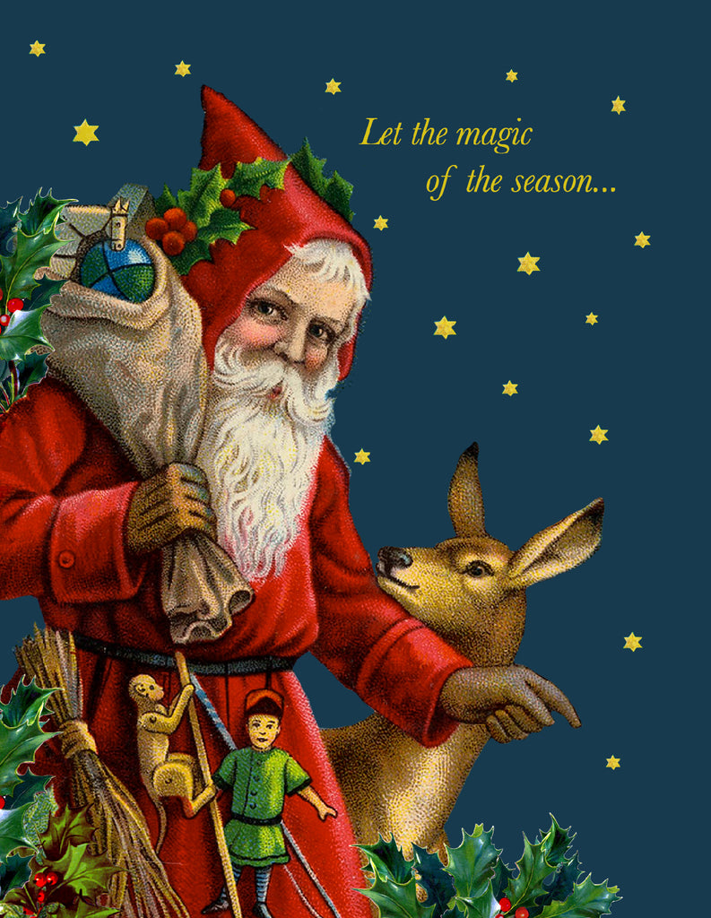 Let the Magic  • A-2 Holiday Greeting Card