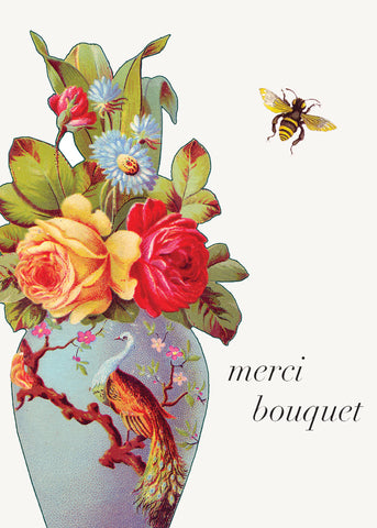 Merci Bouquet • Mini Card