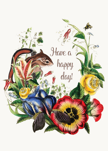 Have a happy day • Mini Card
