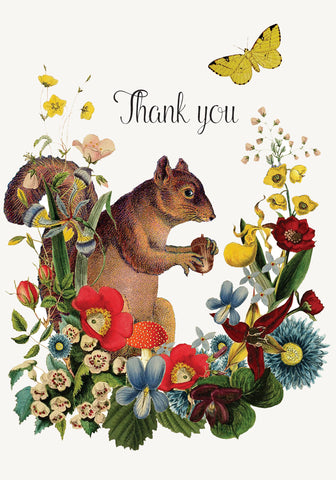 Thank you squirrel • Mini Card