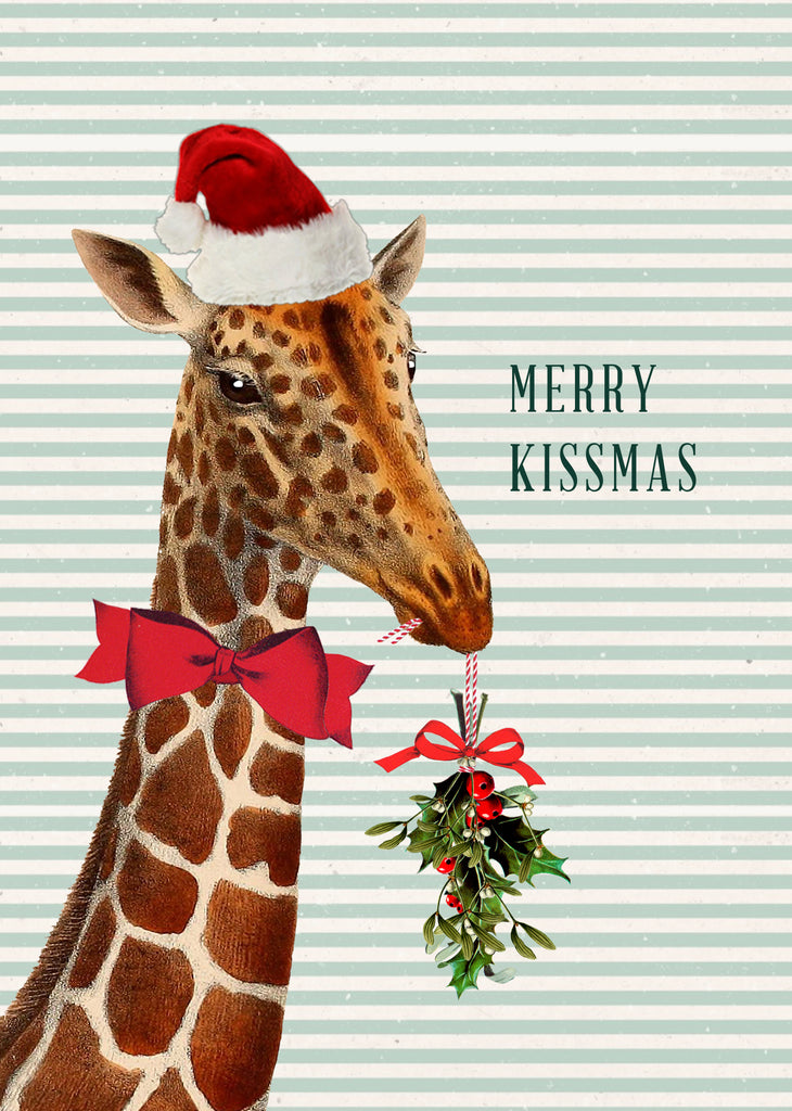 Merry Kissmas • 5x7 Holiday Greeting Card