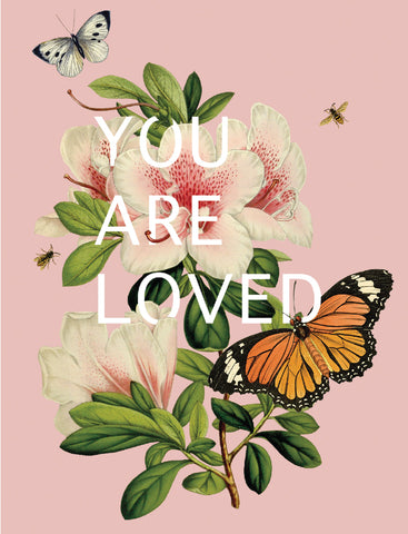 You are loved • A-2 Greeting Card