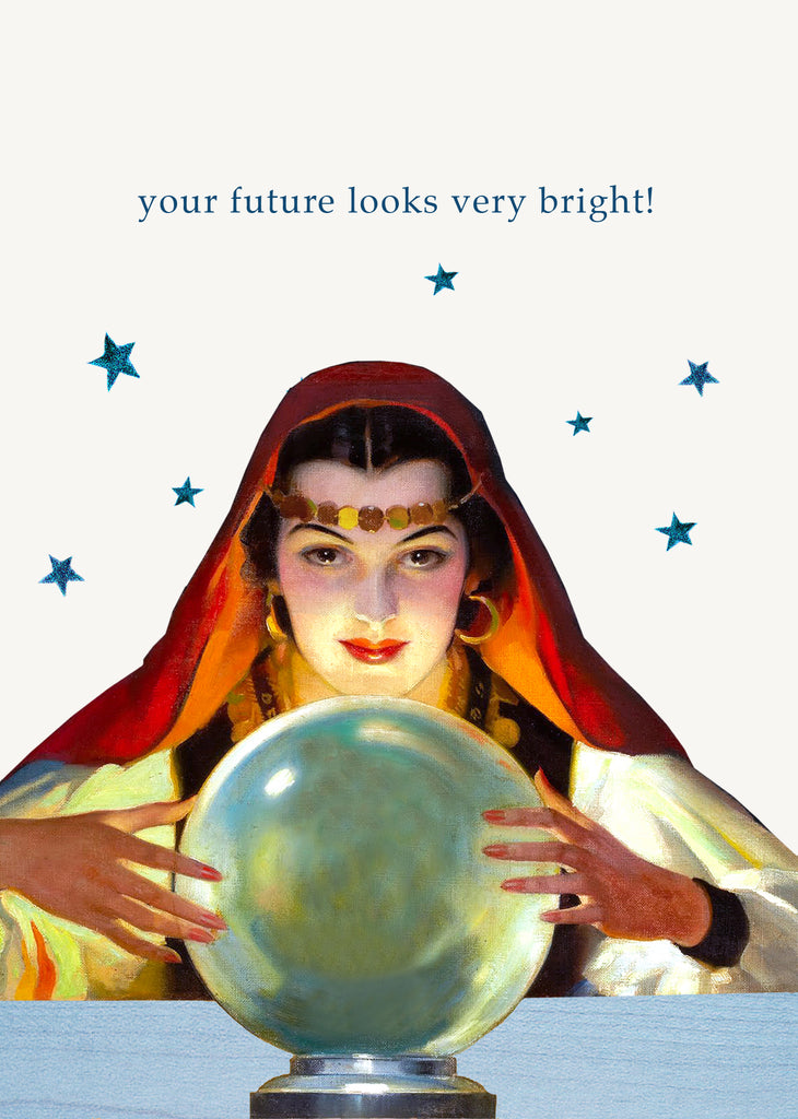 Your Future Looks Very Bright • 5x7 Greeting Card