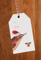 Bird • Holiday Gift Tags