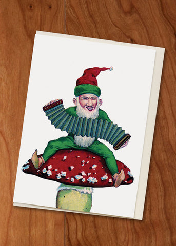 Gnome • Holiday Mini Card