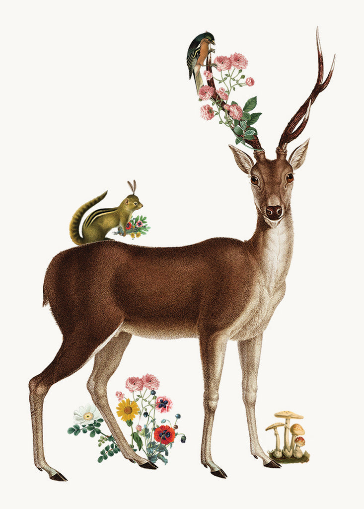 Deer• Mini Card