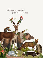 Peace On Earth • 5x7 Holiday Greeting Card