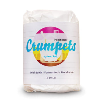 Crumpets by Merna - Traditional (6 Pack)