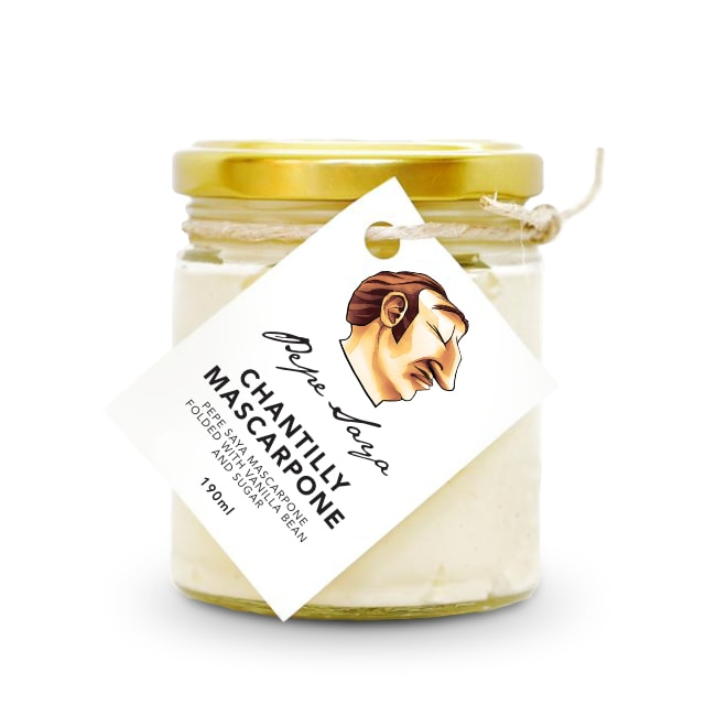 Pepe Saya Chantilly Mascarpone 190ml