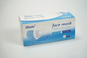 QISHI BRAND Disposable 3 Ply Face Masks 2000 PCS /Case
