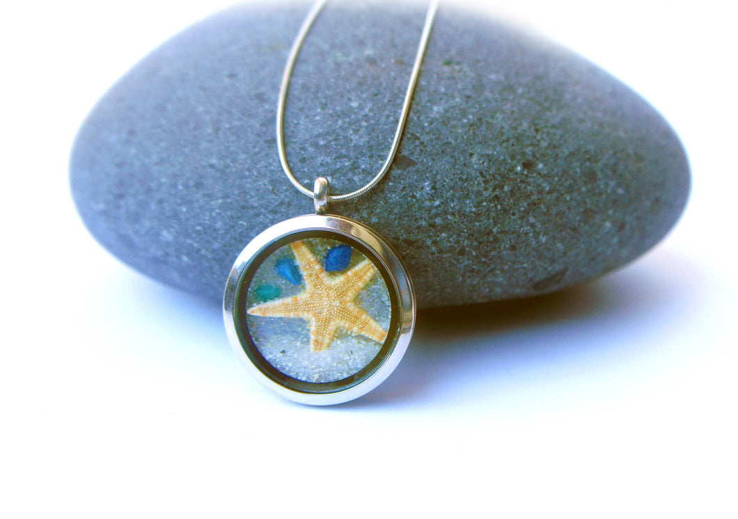 Starfish Beach Necklace - Nature Jewelry