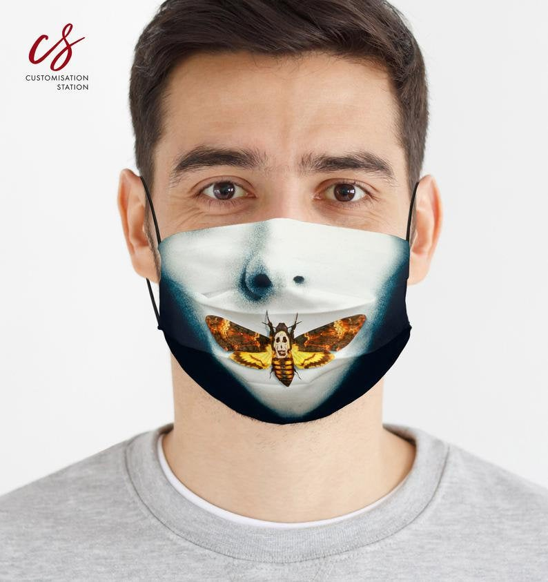 Silence of the Lambs Death Head Mask - Universal Mask