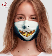 Load image into Gallery viewer, Silence of the Lambs Death Head Mask - Universal Mask