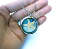 Load image into Gallery viewer, Starfish Beach Necklace - Nature Jewelry