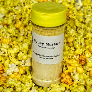 Honey Mustard Popcorn Seasonings - Uncle Bob's Popcorn