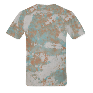 The Record Player Tour Tye Dye Lady Medium Tee