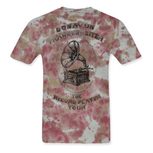 The Record Player Tour Tye Dye Lady Large Tee