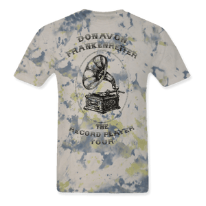 The Record Player Tour Tye Dye Unisex Large Tee