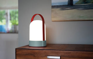 LED lamp with USB charging