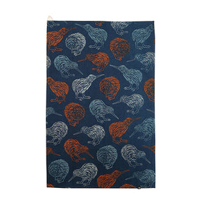Kiwi Bird Tea Towels by DQ design