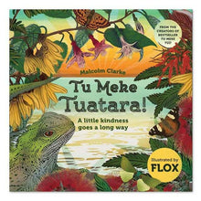 Load image into Gallery viewer, Tu Meke Tuatara - a little kindness goes a long way
