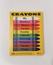 Load image into Gallery viewer, Cool Te Reo Crayons