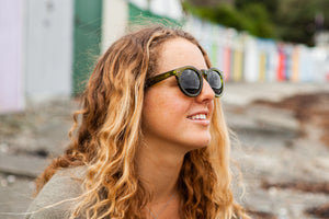 Grace Kelly Bamboo Sunglasses by Moana Road