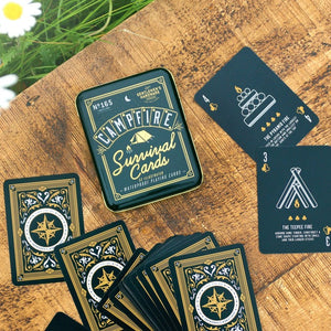 Campfire Survival Playing Cards