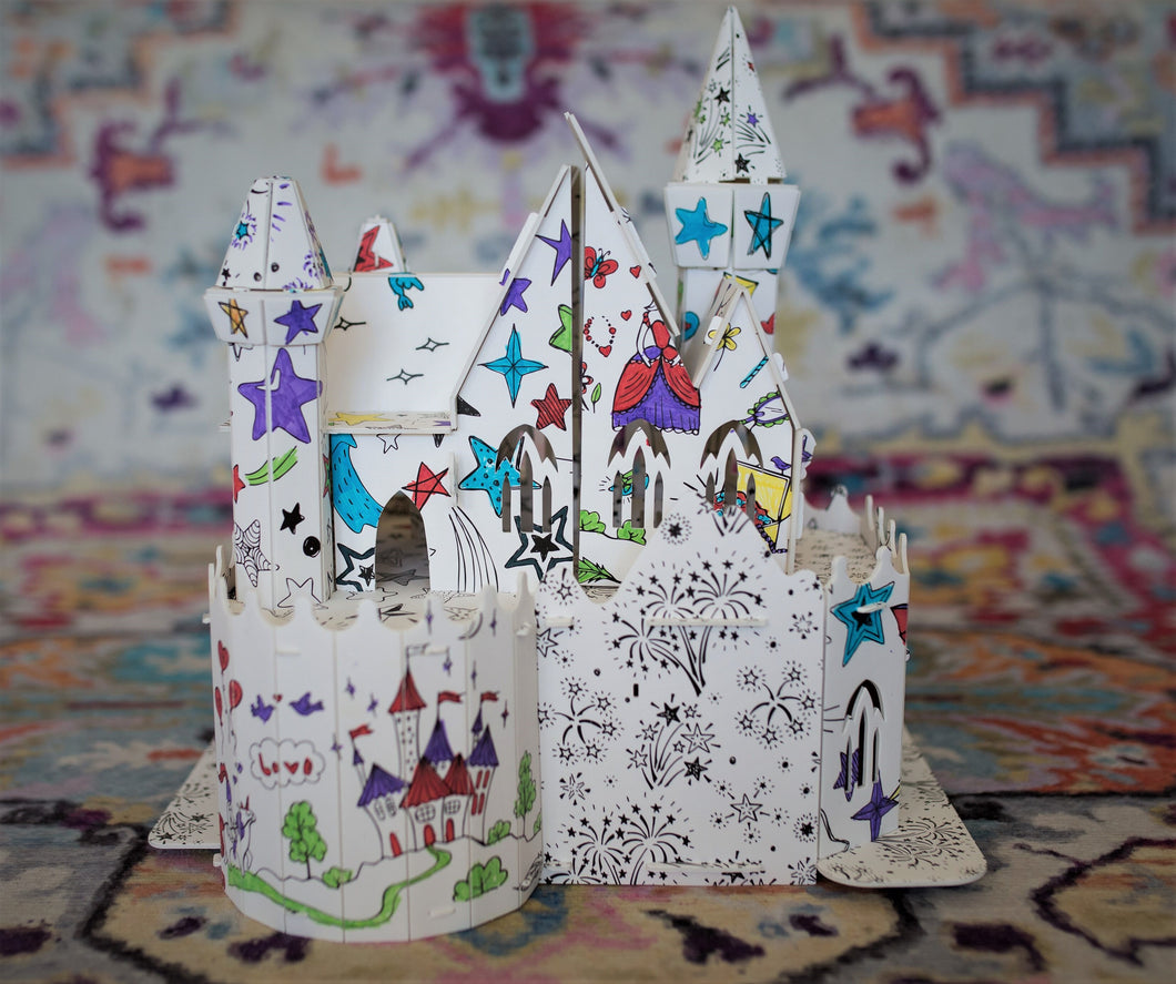 Unicorn Book with DIY Castle