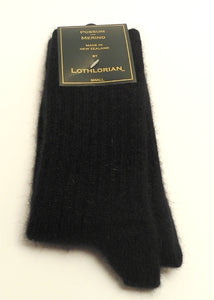 Possum/Merino Socks by Lothlorian