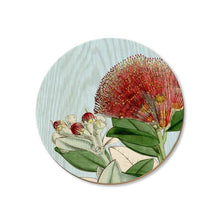 Load image into Gallery viewer, New Zealand Bird and Flower Coasters