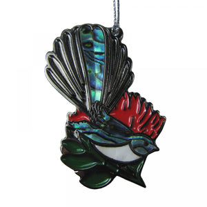 Paua Bird Decorations