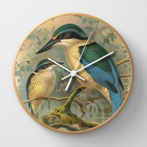 New Zealand Bird Clocks