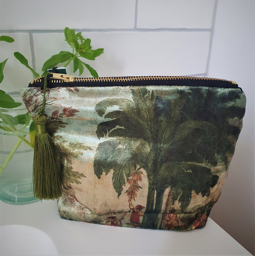 Velvet Pacific Cosmetic Bag