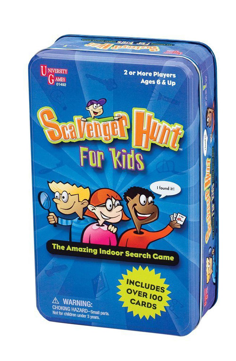 Scavenger Hunt Game for Kids