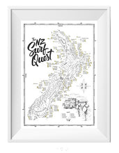 Load image into Gallery viewer, New Zealand Surf Map