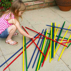Giant Wooden Pick Up Sticks