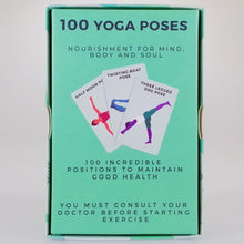 Load image into Gallery viewer, 100 Yoga Poses Cards