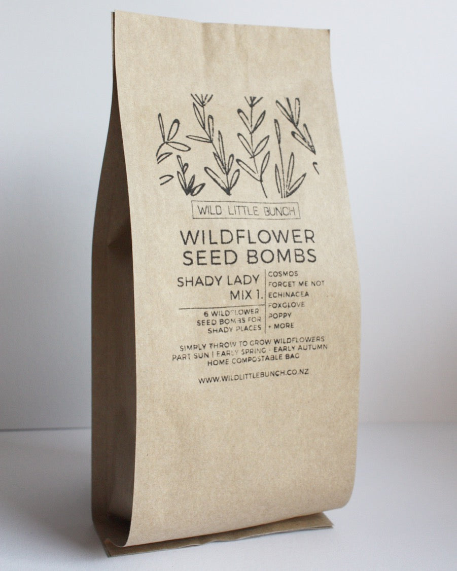 Wildflower Seed Bombs