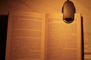 Amber Book Light - this is the best book light!