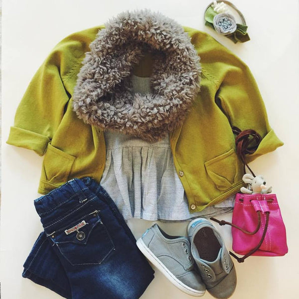 Bright Color Fall OOTD