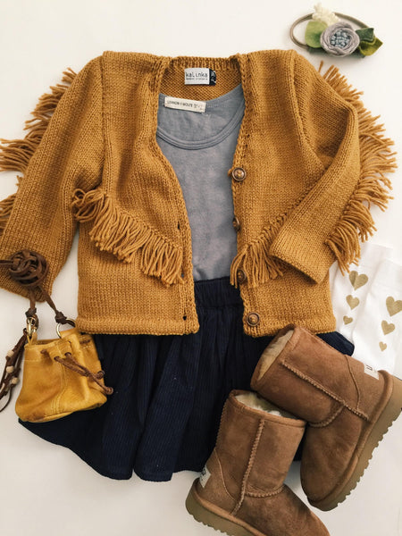 Mustard is a Fall Must Have.